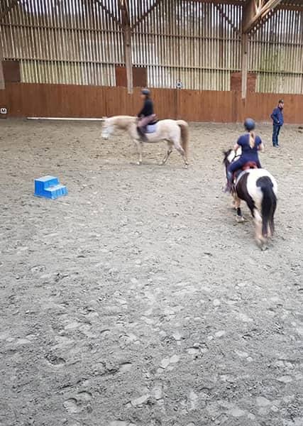 Cours d'équitation chez Ékinétik