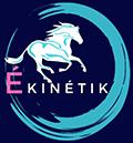 Logo de l'en-tête du site Ékinétik, pension, soins et cours cheval et chevaux en Bretagne, Ille-et-Villaine